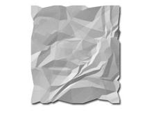 смятая бумага
