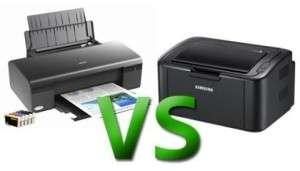 Преимущества лазерных и струйных печатных устройств